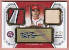 2012 Topps Museum Collection RYAN ZIMMERMAN AUTOGRAPH PATCH JERSEY GOLD 04 25