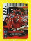 Power Rangers Promo P 190 Forever Red Card ACG Mighty Galaxy Zeo Time Lost Foil