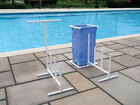 Pool Side Organizer With Hampers for Swimming Pool Floats and Water Toys