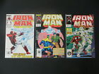 IRON MAN 219 221 1ST APP GHOST ANT MAN  THE WASP MOVIE 3 ISSUE SET 123