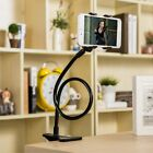 Univers Flexible Lazy Bracket Mobile Phone Stand Holder Car Bed Desk For iPhoNA