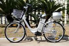 Electric Bicycle 26 City E bike Hybrid road ebike Pedal Assistance LCD 250W New