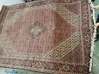 Antique Hand Knotted Heriz Persian Rug 7' x 10', Very Clean, Vibrant Colors