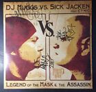 Legend of the Mask and the Assassin Dj Muggs Vs Sick Jacken Signed Vinyl Rare!