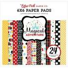 Echo Park Double Sided Paper Pad 6X6 24 Pkg Magical Adventure 083832276911
