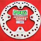 HONDA 150 DYLAN SES 00 - 07 NG FRONT BRAKE DISC GENUINE OE QUALITY UPGRADE 451