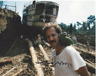 DIRECTOR WERNER HERZOG SIGNED AUTHENTIC 8X10 PHOTO B w COA FITZCARRALDO ON SET