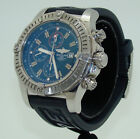 BREITLING AUTOMATIC 48mm SUPER AVENGER BLUE DIAL CHRONOGRAPH WATCH A13370