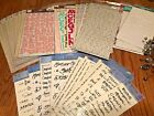 Scrapbook Lot 39 Letters Stickers Numbers Alphabet Rub Ons Heidi Grace Mixed