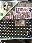 K  Company Scrapbook Kit Brown with multi colored dots family or fun album