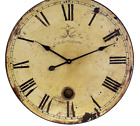 Beautifully Rustic Large Wall Clock with Pendulum