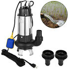 400GPM Sump Pump 15HP Industrial Sewage Cutter Grinder Cast iron Submersible
