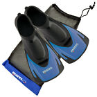 MARES HERMES SWIM TRAINING FINS SWIMMING SNORKELLING SHORT BLADE FIN WITH BAG