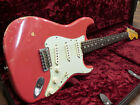 Fender Custom Shop 1962 Stratocaster Heavy Relic Fiesta Red Used  FREE Shipping