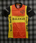TRUE vintage 80s TEAM RALEIGH giordana CYCLING JERSEY SMALL Made Italy Rare HTF