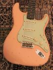 Fender Custom Shop 1960 Stratocaster Relic Shell Pink   CZ530543 New