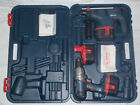 Bosch GBH 24V Hammer, GSB24VE-2 Combi Drill & 3 x Batteries + Box