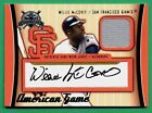 2004 Fleer National Pastime WILLIE McCOVEY AUTOGRAPH JERSEY (HOF) Giants 02 22