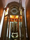 Sligh Grandfather Clock with Display Glass Shelving And Lights