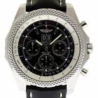 Breitling New Bentley 49mm Steel 6.75 Speed A4436412/BE17 Box/Paper/Warnty #BR28