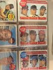 1969 TOPPS STARTER SET OF 386 CARDS EX+ NM ALL DIFFERENT