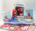 Funko Pop: Marvel Collector Corps Spider Man Homecoming Complete Sealed New Box