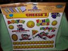 CHUCK E CHEESE SCRAPBOOK PAPER COLLECTION 6 COORDINATING PAPERS 1 PUNCH OUT PAGE
