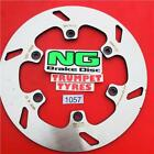 CCM 644 DUAL SPORT SUPERMOTO 03 NG REAR BRAKE DISC OE QUALITY UPGRADE 1057