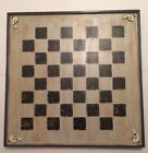 Checkers/Chess Game Board, Primitive Reproduction, Wood Country Style, Folk Art