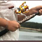 Telescopic Fishing Rod Saltwater Travel Spinning Fishing Rods Poles Retractable