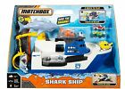 Matchbox Playset Shark Ship Floats in Water and Rescue on Land Mission Marine
