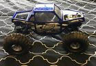 LOSI 1/18 SCALE MINI ROCK CRAWLER PRO CHASSIS RC W/ EXTRAS