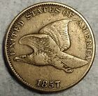 Sharp 1857 Flying Eagle Cent Beautiful Very Fine specimen