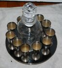 Gorham #951 sterling silver cordials goblets , set of 12 w tray