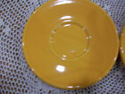 FIESTA WARE JUMBO SAUCER. MARIGOLD. RETIRED iTEM AND COLOR.NEW