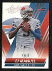 EJ Manuel Signs Exclusive Autographed Memorabilia Deal with Panini Authentic 7