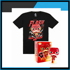 Funko Pop Tees : The Flash #713 Box Lunch Exclusive : S M L Size T Shirt