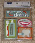 Karen Foster Design Dimensional Stacked Stickers Dentist