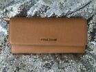 Cole Haan Emilia Flap Wallet, Pecan/Toasted Almond