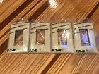 LOT OF 4 EATON ALMOND / OFF WHITE SINGLE GANG ROCKER WALL PLATE COVER BRAND NEW!