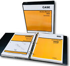 CASE 1830 UNI LOADER SKID STEER TECHNICAL SERVICE MANUAL PARTS CATALOG SHOP SET