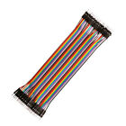 40x Breadboard Dupont Jump Wire M-mm-ff-f 102030cm Jumper Cable For Arduino