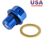 Magnetic Engine Oil Drain Plug Bolt w/Crush Washer For KTM ATV SX/XC HUSQVARNA