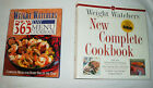Weight Watchers New Complete Cookbook  New 365 Day Menu Cookbook Lot of 2 Books