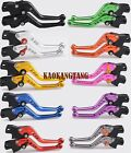Shorty Brake Clutch Levers for Suzuki GSXR600/750/1000/1300 hayabusa GS500 E/F