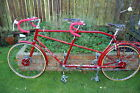 Vintage ultra short wheel base Claud Butler tandem