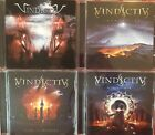 Vindictiv- S/T, Ground Zero, Cage Of Infinity, World Of Fear (4 CD Lot) Stygma V