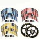 Motorcycle F650GS Wheel Decals Reflective Stickers Rim Stripes For BMW F650GS