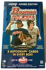 2013 Bowman Draft Sealed Jumbo Hobby Box: 3 Autos - Aaron Judge, Bryant AFLAC?