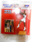 Clyde Drexler Kenner Starting Lineup figure 1996 NBA Houston Rockets with CARD